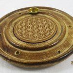 Flower of life incense Holder
