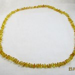 Amber String Necklace