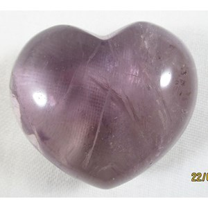 Smokey Amethyst Heart