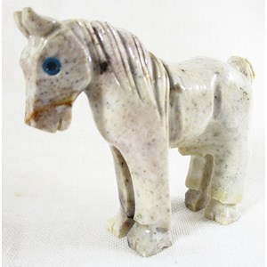 Standing Soapstone Horse