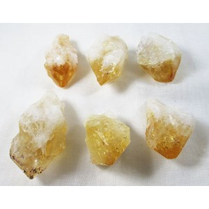6 Piece Citrine Point Grid Set