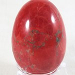 Red Howlite Egg