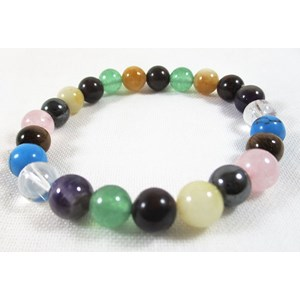Mixed Crystal Power Bracelet (s/m)