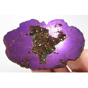 Purple Aura Quartz Geode