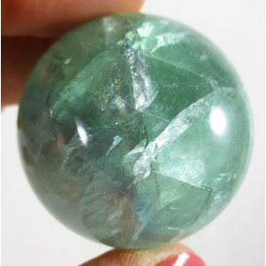 Green Fluorite Sphere (smallish)