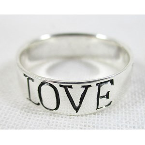 Love Faith and Hope Ring (size P)