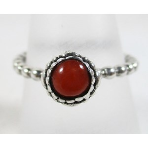 Coral Ring (size N)