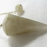 Rutilated Quartz Pendulum