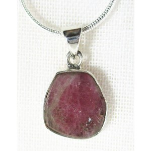 Pink Tourmaline Pendant (small) NO PICTURES