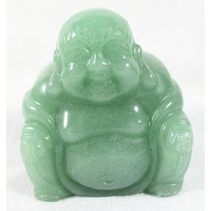 Aventurine Happiness Buddha