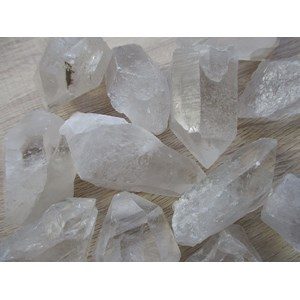 Clear Quartz Rough Point X 1 ROUGH GRADE