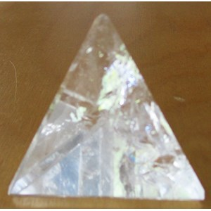 Clear Quartz Pyramid (Medium)