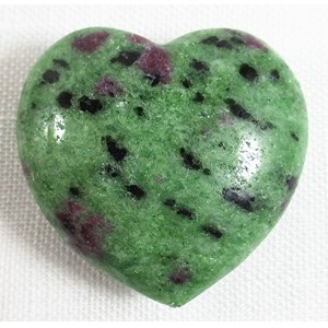 Ruby In Zoisite Heart