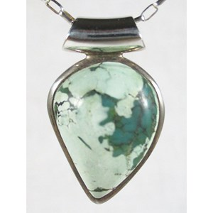 Green Turquoise Pendant (Small)