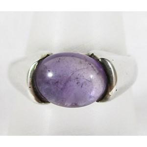 Amethyst Ring (Size P)