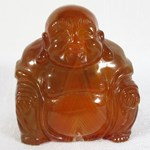 Carnelian Happiness Buddha