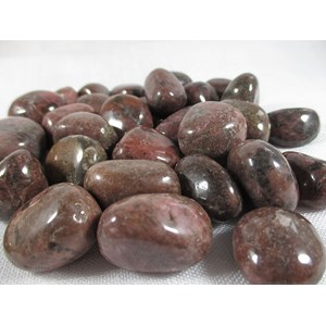 Brown Rhodonite Tumble Stones (Low Grade) x 3
