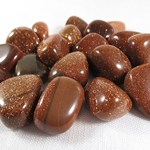 Red Goldstone Tumble Stones x 3