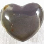 Brown Mookaite Jasper Heart
