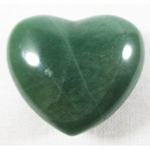 Green Aventurine Heart