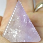 Pale Amethyst Pyramid (Small)