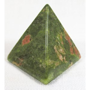 Unakite Pyramid (Medium)