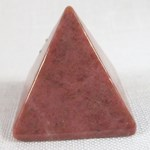 Rhodonite Pyramid (Medium)