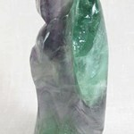 Rainbow Fluorite Angel (Extra Large)