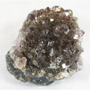Rough Brown Amethyst Cluster (Small)