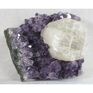 Amethyst and Calcite Cluster (Small)
