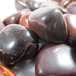 Red Tigers Eye Tumble Stones (X3) C Grade