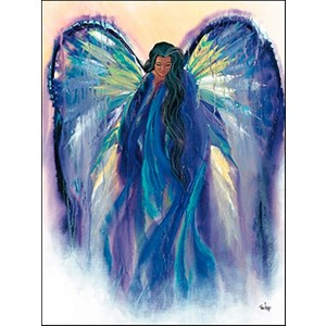 Heavens Light Greetings Card
