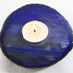 Purple Agate Tea Light REDUCED