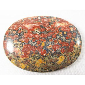 Leopard skin Jasper Palm Stone REDUCED