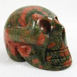 Unakite Skull (Medium)