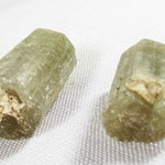 Pair of Apatite Rods