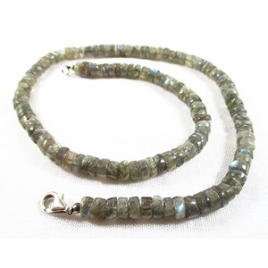 Labradorite Beaded Necklace