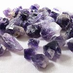 Bag of 50 Small Amethyst Points
