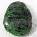 Ruby Zoisite Drilled Pendant