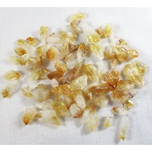 Bag of Baby Citrine Points