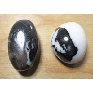 Pair of Zebra Jasper Stones