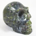 Ruby in Zoisite Skull