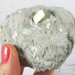 Pyrite in Rock
