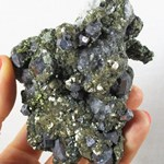 Pyrite, Quartz and Galena Cluster