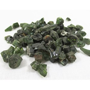 Rough Green Tourmaline -70gms (Approximately 100 Pieces)