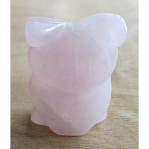 Rose Quartz Owl (Small)