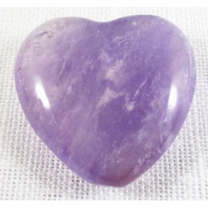 Amethyst Heart (Small) REDUCED