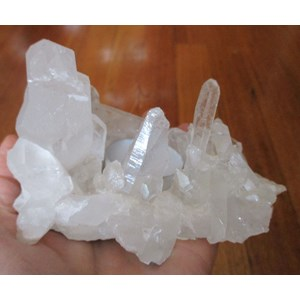 Quartz Cluster Tea Light Holder