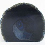 Blue Standing Agate Slice