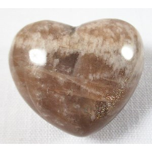 Shaded Moonstone Heart